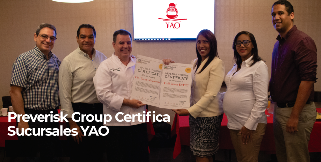 Preverisk Group Certifica Sucursales YAO