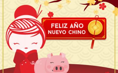 ¡Feliz Año Nuevo Chino! El Año Del Cerdo y lo celebramos con -20% en platos con cerdo