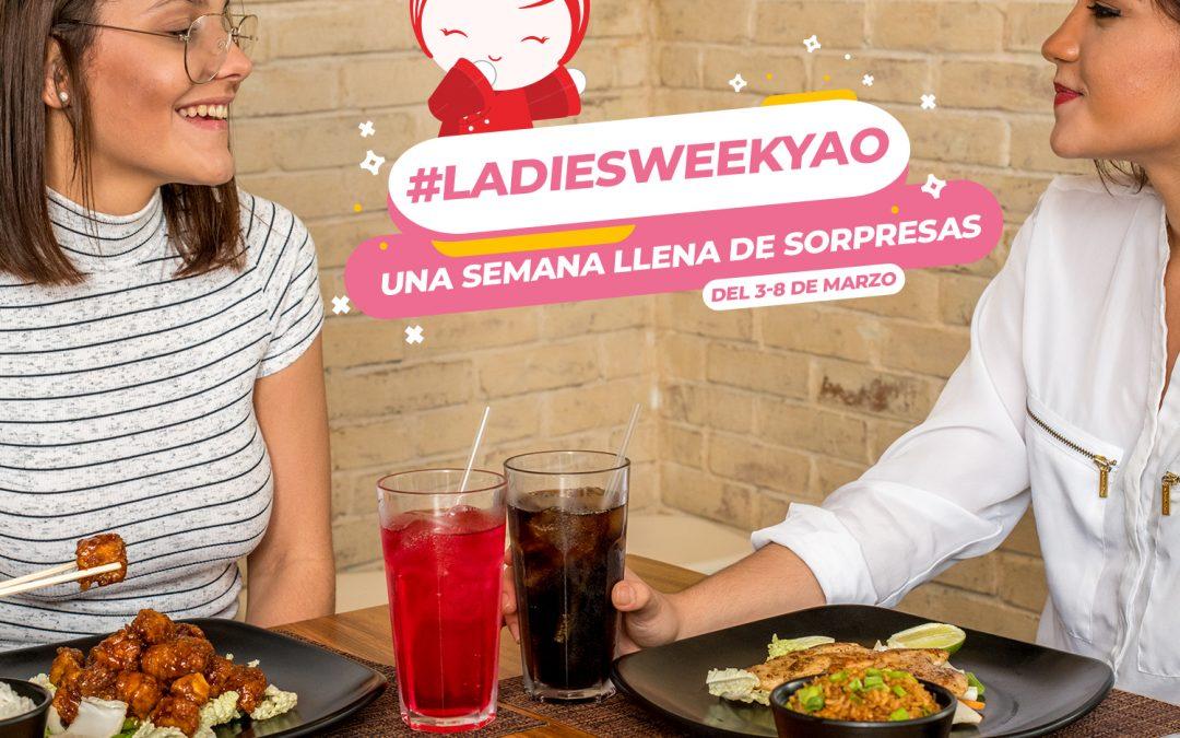 Yao Ladies Week – Una semana llena de sorpresas –