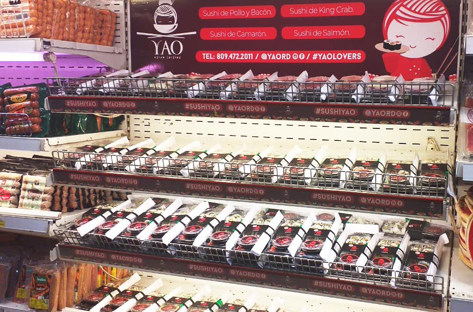 Yao en Supermercados Bravo