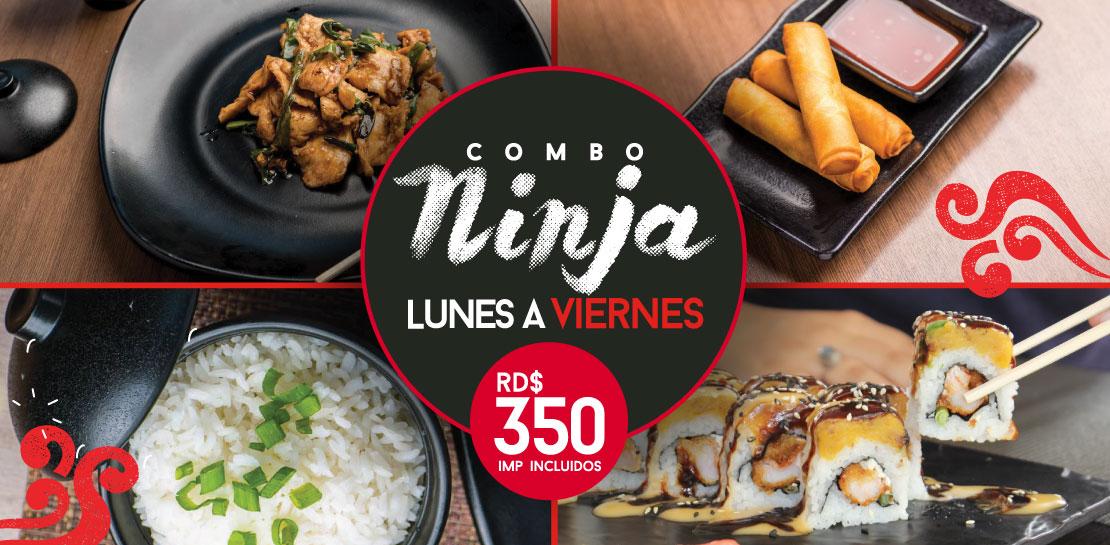 Combo Ninja  -  Yao Asian Cuisine
