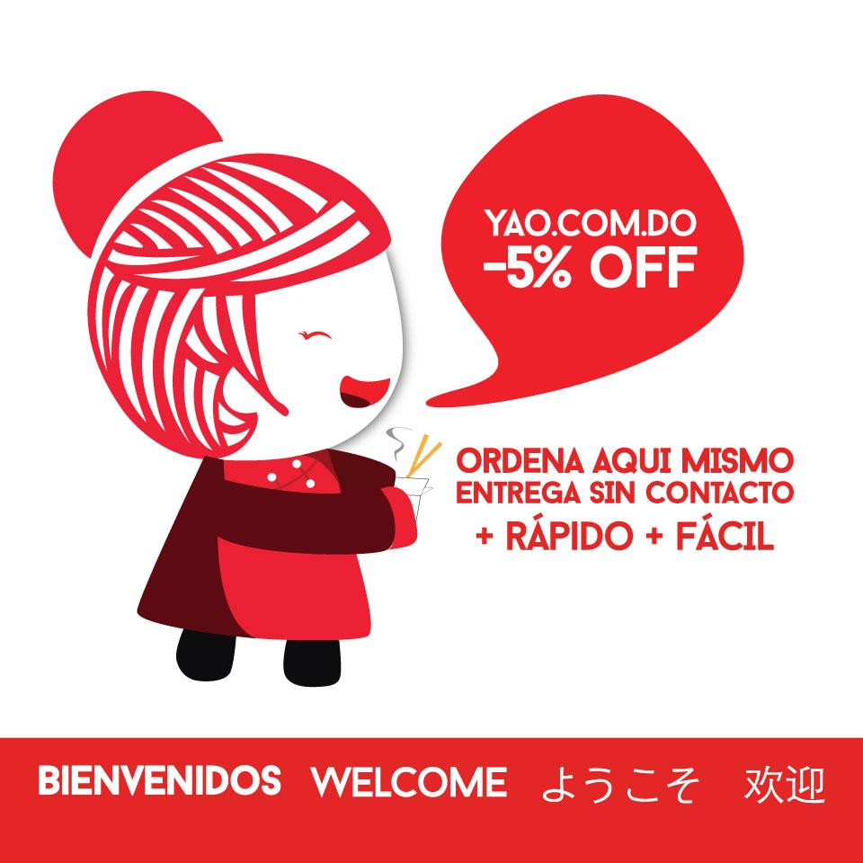 -5off en yao.com.do  -  Yao Asian Cuisine