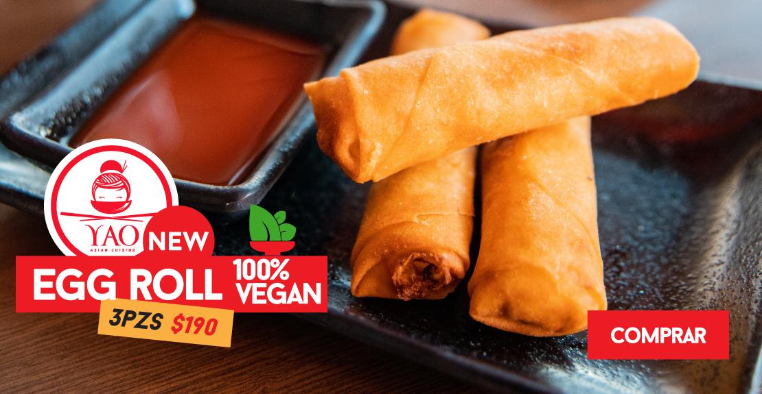 Vegan 100%  -  Yao Asian Cuisine