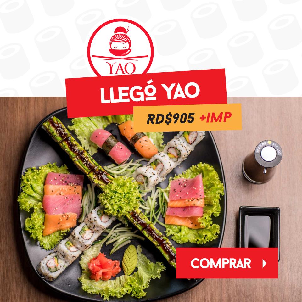 Llego yao  -  Yao Asian Cuisine