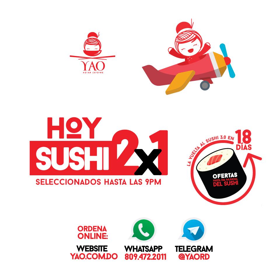 sushi dia  -  Yao Asian Cuisine